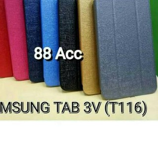 #XS-460 yz-2 SARUNG FLIP COVER SAMSUNG TAB 3V 7inch  / T116 / T110,!