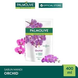 Palmolive Naturals Milk & Orchid Shower Gel/Sabun Mandi 400 ml