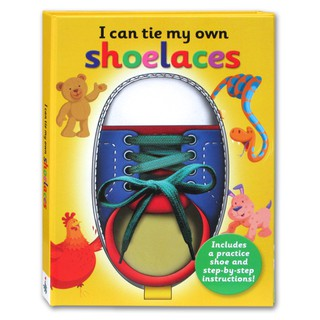 (KD) I Can Tie My Own Shoelaces Includes a Practice Shoe and Step-by-Step Instructions