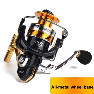 ZLYE AF ALL-Metal Casting Fly Fishing Reels Pancing Kumparan Carp Wheel Left/Right Handle
