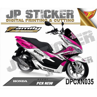 Sticker Decal atau full body PCX NEW desain 035