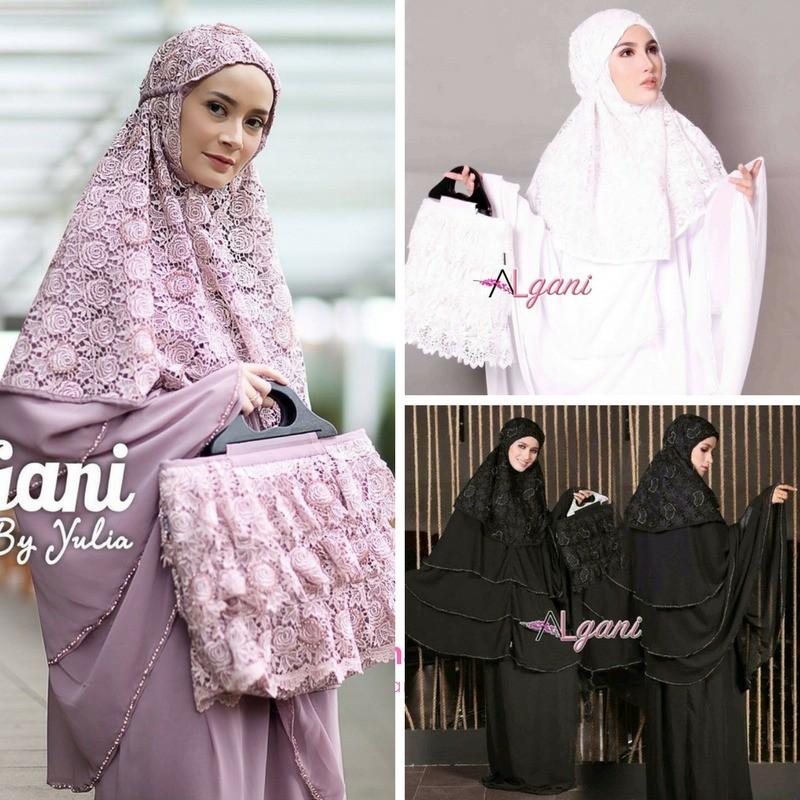 High Quality Mukena AL GANI ORIGINAL by Yulia Fatima Terbaik!