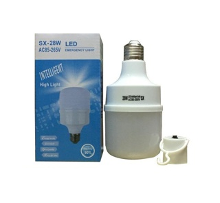 Bohlam Emergency LED SX-28W Sentuh Nyala