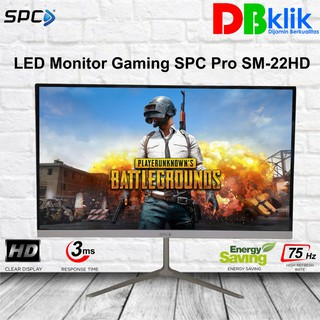 LED Monitor Gaming SPC Pro SM-22 Inch Full HD