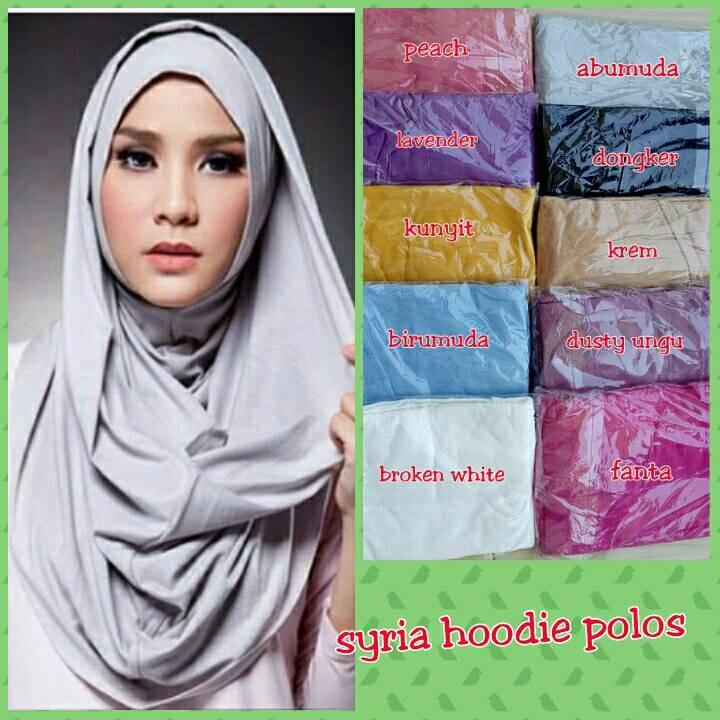 jilbab instan/hoodie polos/hoodie mecca