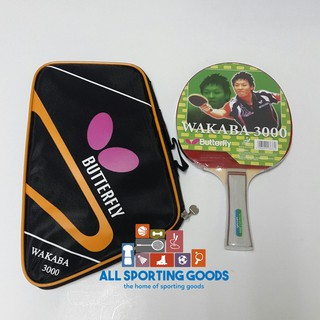 Bet Tenis Meja / Pingpong Wakaba Butterfly 3000
