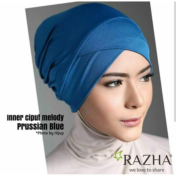 ciput silang inner jilbab kerudung hijab premium cantik nyaman