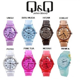 Jam Tangan Jelly Terlaris