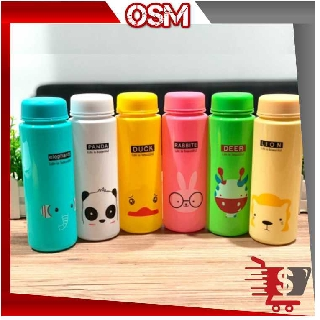 OSM - Bo299 My Bottle Animal / Botol Minum Animal / Botol Minum Karakter / Botol 500 ML