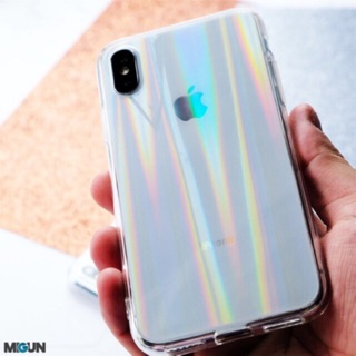 AURORA HOLOGRAM CASE - SOFTCASE - VIVO, OPPO, XIAOMI, IPHONE