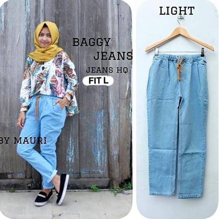 Diskon Celana Baggy Jeans / Celana Jeans Wanita Termurah Gudang Celana Jeans Spesial Ramadhan