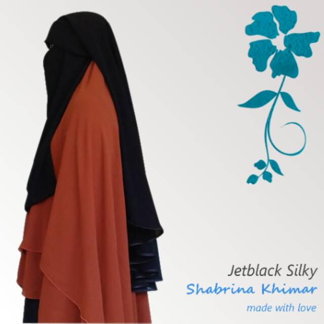 Flap niqob#murah sifon silky