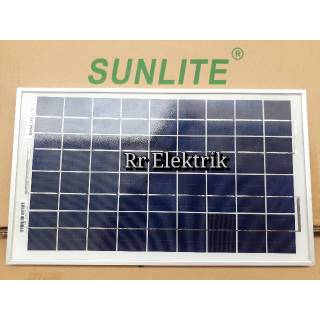 Solar Panel Solar Cell Panel Surya Sunlite 10wp Poly