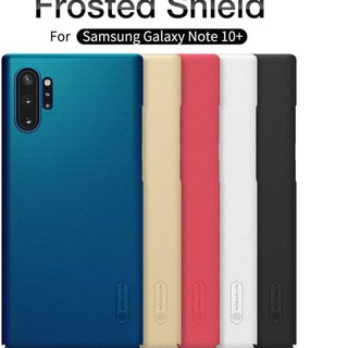 BLZ371 SAMSUNG GALAXY NOTE 10 PLUS PRO NILLKIN HARD CASE FROSTED SHIELD ORI *22