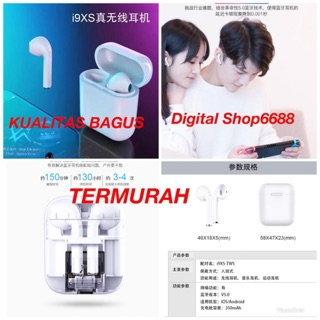 airpods & headset & earphone & bluetooth & wireless i9XS TWS