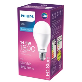 Lampu LED Philips 14.5 Watt Putih/Cool Day Light (14.5W 14.5Watt 14.5 W)