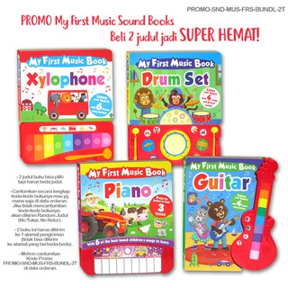 (KD) PROMO Special Price Bundling Beli My First Music Sound Books 2 judul jadi SUPER HEMAT
