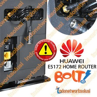 Terkini!! PIGTAIL ADAPTER ANTENA MODEM BOLT HUAWEI E5172 4G LTE HOME ROUTER ^^