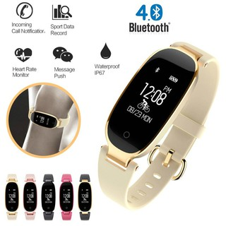 Fashion S3 Import Bluetooth Waterproof Smart Heart Rate Monitor Ladies Smartwatch for Android IOS