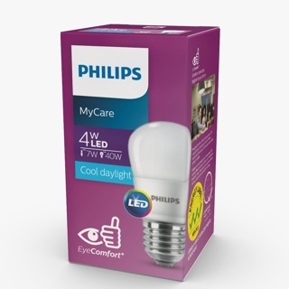 Philips Lampu LED Bulb Cool Day Light 4Watt - Putih