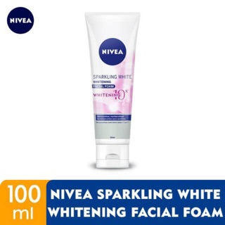 Nivea Visage Sparkling White Facial Foam 100ml