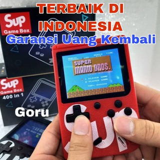 Game boy gameboy Retro Mini FC 400 in 1 sup games box mainan anak ori