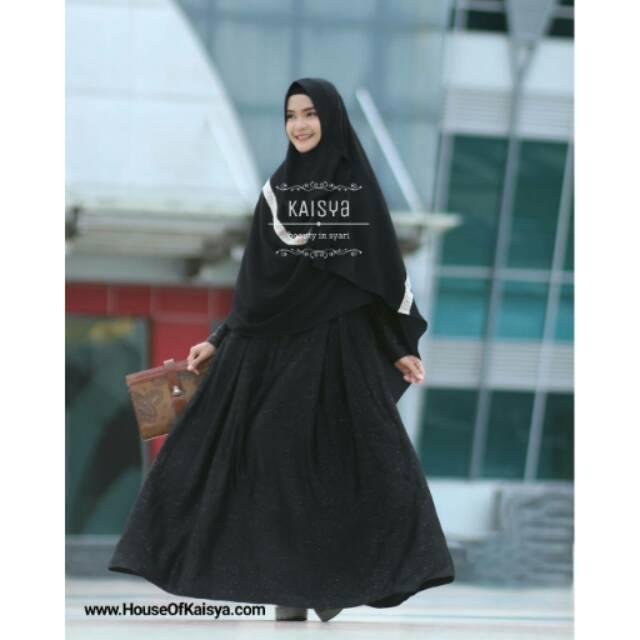 Royya Dress by kaisya BLACK