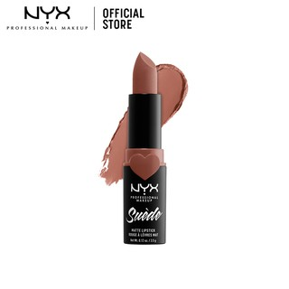 NYX Professional MakeUp Suede Matte Lipstick Make Up - 03 Rose The Daydaze