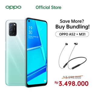 OPPO A52 Bundling OPPO Official Accessories
