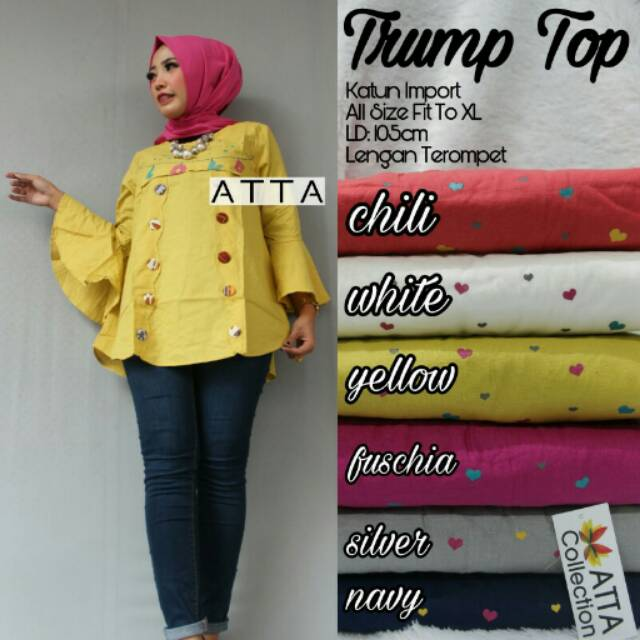 "Blouse ""Trump Top"" by Atta"