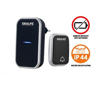 Idealife Bel Bell Pintu Rumah Wireless Doorbell Tanpa Kabel No Battery IL-295 IL 295 IL295