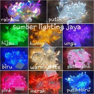 Lampu tumblr led 10M rgb fairy light / lampu natal / tumblr light / twinkle lights