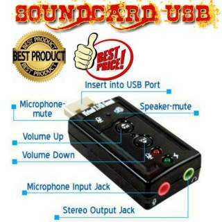 SOUNDCARD USB VIRTUAL