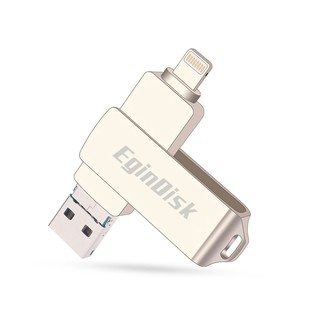 Flashdisk 128GB For iPhone / iPad / Android Phone / PC Otg USB Flash Disk