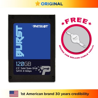 Patriot SSD 120 GB Burst SATA III 2.5