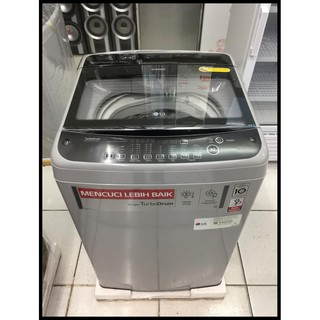 Barang Real Picture Mesin Cuci Lg T2175Vsam Smart Inverter 200 Watt 7,5 Kg Top Loading