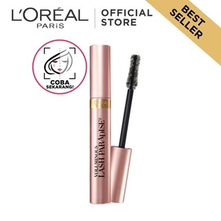L'Oreal Paris Voluminous Lash Paradise Waterproof Mascara Make Up - Black