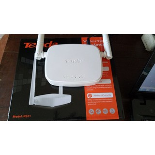 Tenda Wireless/Wifi Router N301 300Mbps WISP Support