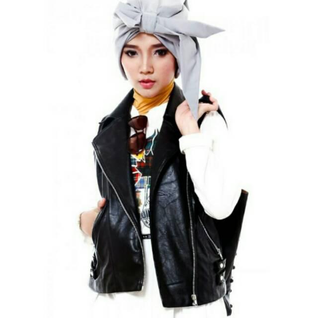 Vest/rompi kulit ori by Encyclo Shafira