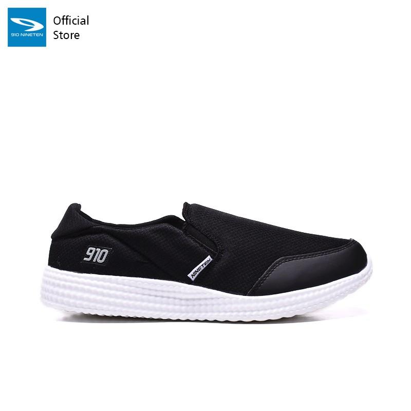 910 Nineten Amane Sepatu Running Unisex Hitam/putih