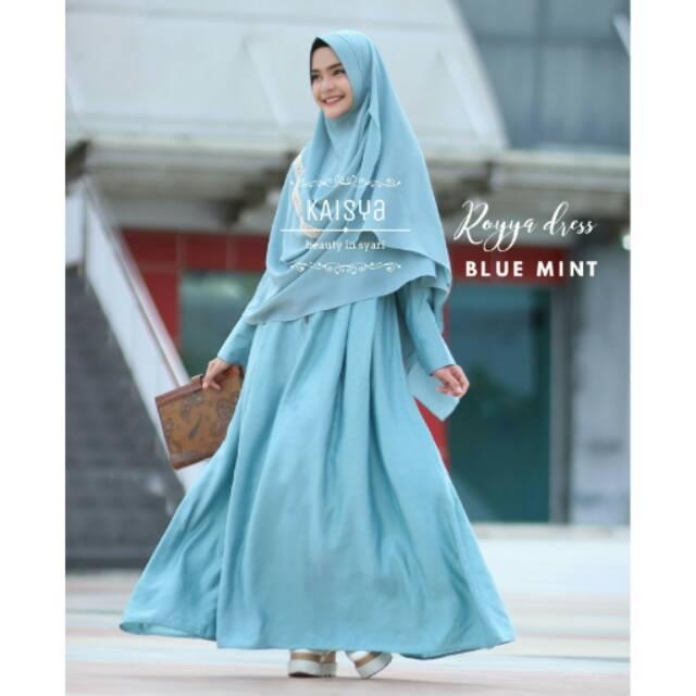 Royya Dress by Kaisya BLUE MINT