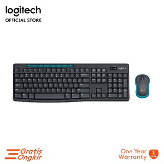 Logitech MK275 Wireless Combo keyboard Mouse Multimedia [ Garansi Resmi ]