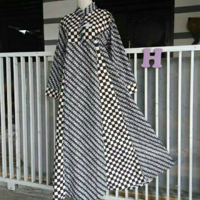 Gamis/longdress batik merk hap model hana
