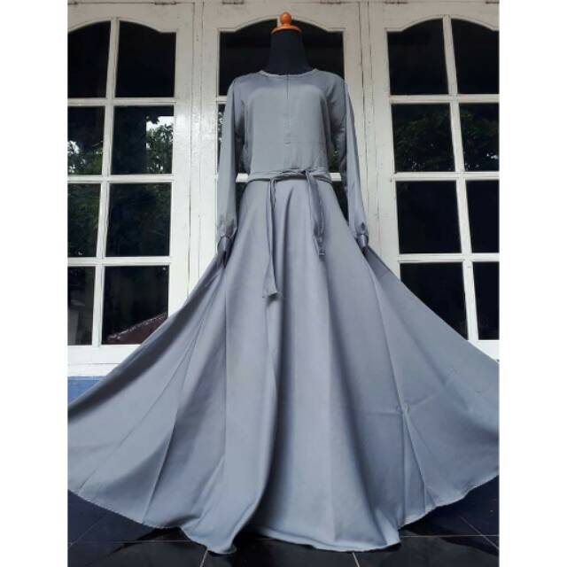 Gamis balotelli polos umberella 4 Meter busui by melly