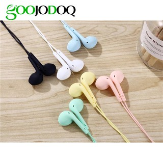 Macarone wired headset wholesale in ear U19 brand general earphone 1.2m music headset 3.5mm plug