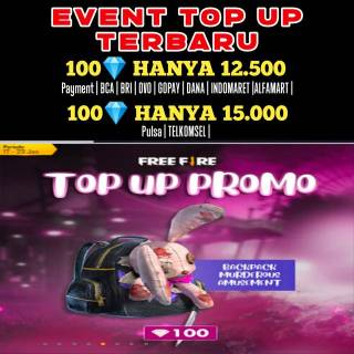 [EVENT TOP UP] GARENA FREE FIRE INDONESIA