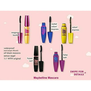 [LUSINAN] MAYBELINE THE MAGNUM VOLUME EXPRESS MASCARA / SALE