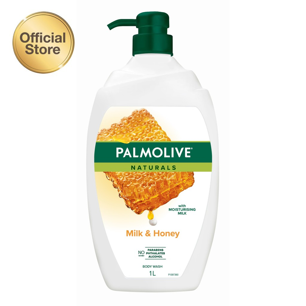 Palmolive Naturals Milk & Honey Shower Gel/Sabun Mandi Susu 1L #1