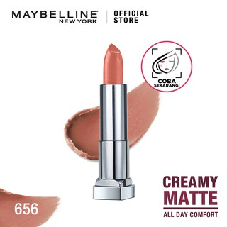 Maybelline Color Sensational The Creamy Mattes - Matte Lipstick Make Up