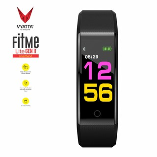VYATTA FitMe Lite Smartband - Colour Display, HeartRate, Waterproof